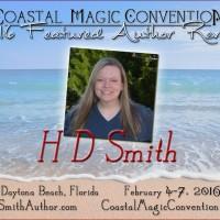 #CMCon16 Author Spotlight – H.D. Smith!