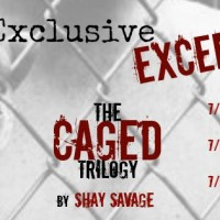 Exclusive Excerpt Reveal: Trapped (Caged #2) by Shay Savage
