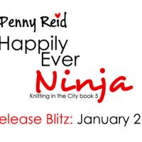 Release Blitz: Happily Ever Ninja by Penny Reid