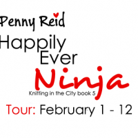 Blog Tour: Happily Ever Ninja by Penny Reid with Excerpt & Giveaway