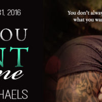 Cover Reveal: Say You Want Me by Corrinne Michaels