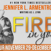 Review & Excerpt Tour: Fire In You by J. Lynn plus GIVEAWAY