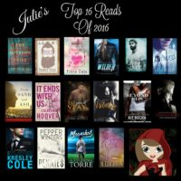 Julie's Top 16 Books of 2016!!