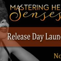 Release Launch: Mastering Her Senses by Laura Kaye plus GIVEAWAY