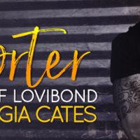 Cover Reveal: Porter by Georgia Cates