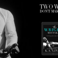 Review Blitz: The Wright Mistake by K.A. Linde