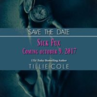 Save The Date…..Sick Fux by Tillie Cole