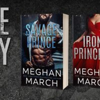 Cover Reveal: Iron Princess & Rogue Royalty by Meghan March