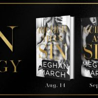 Cover Reveal: Guilty As Sin & Reveling In Sin by Meghan March