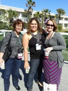 Pamela Palmer, Jenese, and me